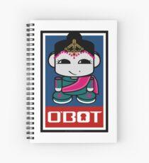 Kata O'BABYBOT Toy Robot 2.0 Spiral Notebook