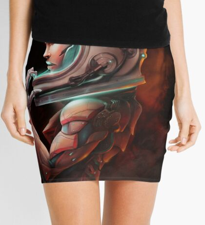Cosmonaut Mini Skirt