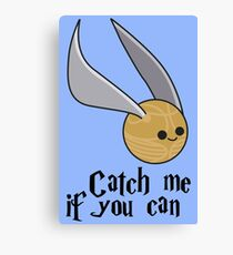 Catch me if you can! Canvas Print