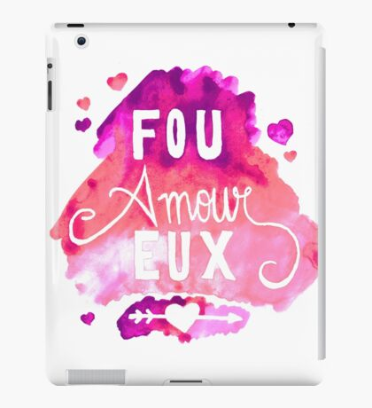 Fou Amour Eux - Crazy in Love iPad Case/Skin