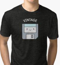 Cute Vintage Floppy Disk  Tri-blend T-Shirt