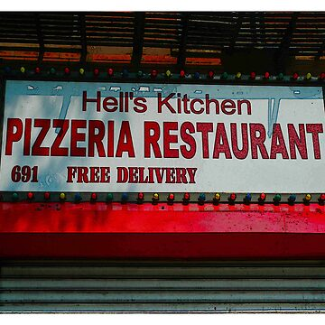 Hell's Kitchen Pizza NYC by Urban59