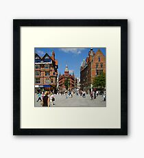 Nottingham Square Framed Print