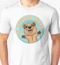 Sei Quokka glücklich Slim Fit T-Shirt