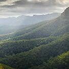 Approaching the Castle, Budawangs, Morton National Park, New South Wales, Australia by Michael Boniwell