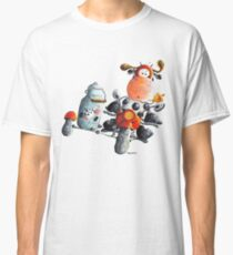 Cow rides the motorbike Classic T-Shirt
