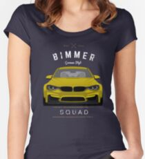 Bimmer Squad Women's Fitted Scoop T-Shirt