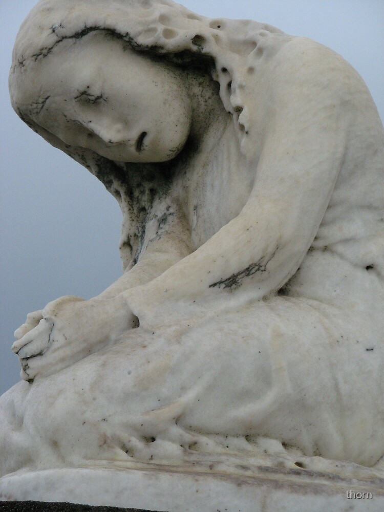 Cemetary Statue by thorn