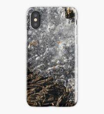 Winter Ice on Grass iPhone Case/Skin