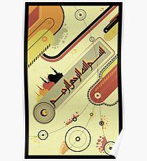Islamic Vector Art Poster