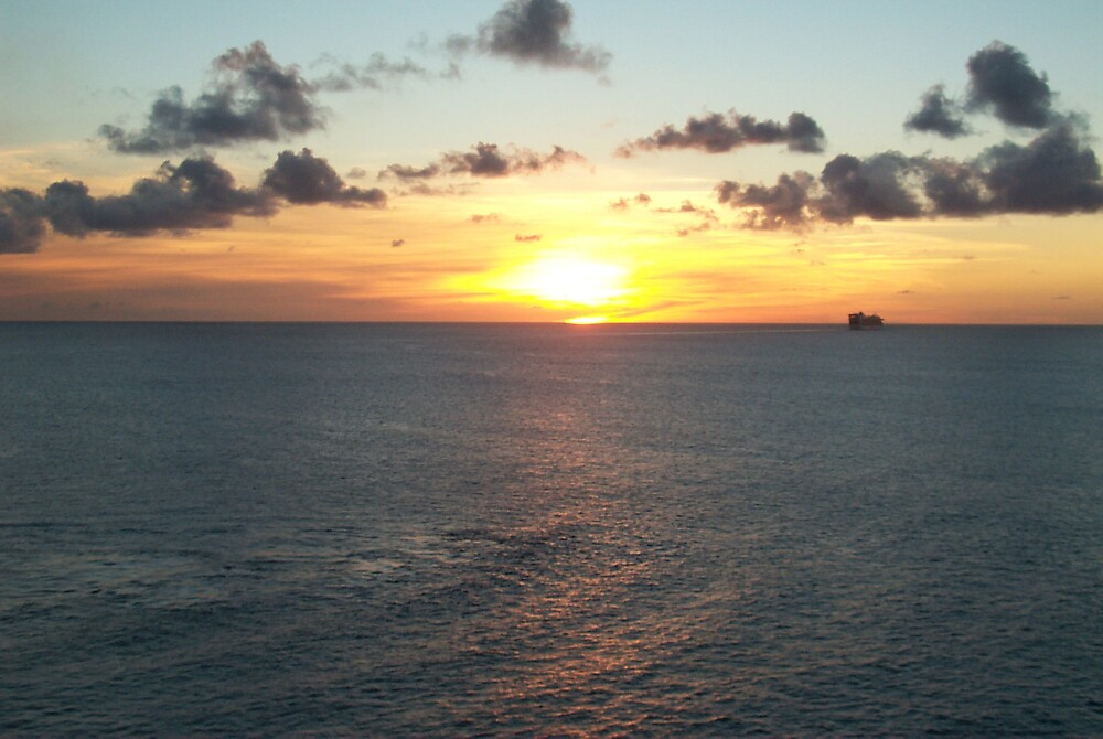 Caribbean Sunset by StudioN