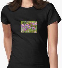 Alpen Flower Women's Fitted T-Shirt