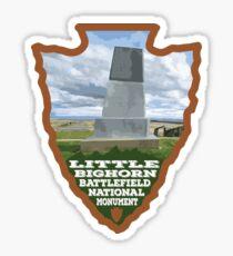 Little Bighorn Battlefield National Monument arrowhead Sticker