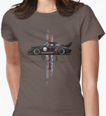 vintage racing Womens Fitted T-Shirt