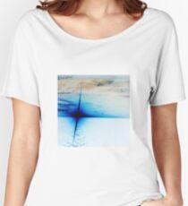 Blue Sun Setting Women's Relaxed Fit T-Shirt