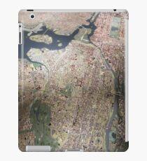 Scale-Model Manhattan, Bronx, New York City iPad Case/Skin
