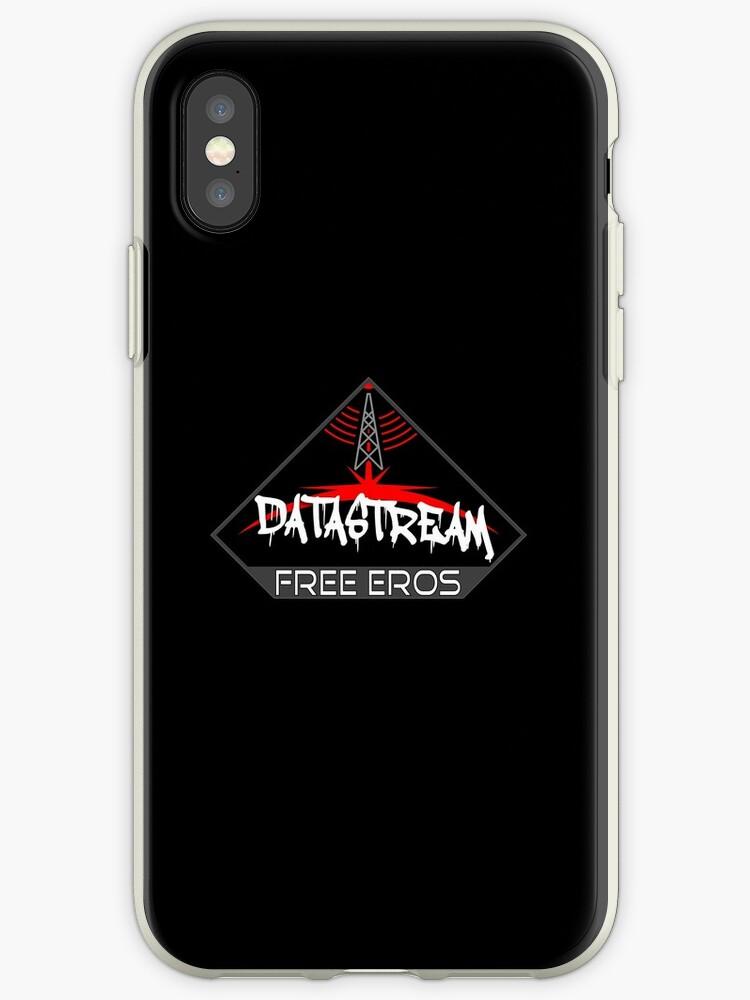 best cheap d9037 58cb2 'DataStream: Free Eros' iPhone Case by Tzsycho
