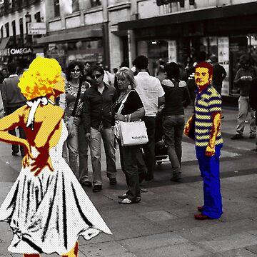 Pop Art in Madrid by Manuel