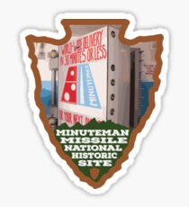 Minuteman Missile National Historic Site arrowhead Sticker