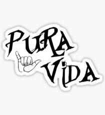 Pura Vida Shaka! Sticker
