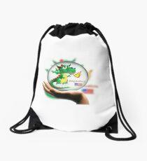 Keywebco Draco In a Bubble Drawstring Bag