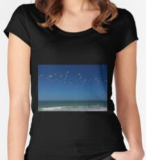 Come Fly with Me Women's Fitted Scoop T-Shirt