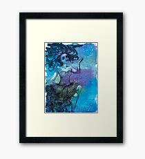 Rain Walker Framed Print