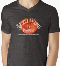 Benoit Family Farms Men's V-Neck T-Shirt