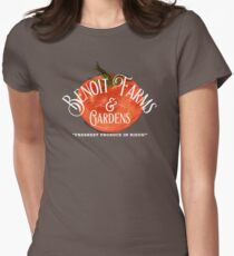 Benoit Family Farms Women's Fitted T-Shirt