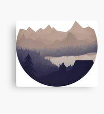 Remote Location - No Sky Canvas Print