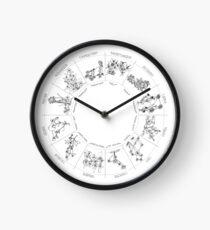 Floral Constellation - Ensemble Clock