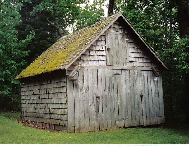 Mossy Shed by Kimberly D. Allen