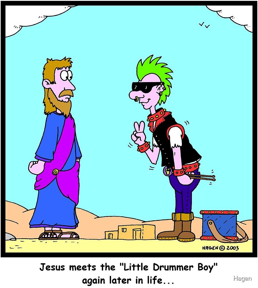 Grown-Up Drummer Boy by Hagen