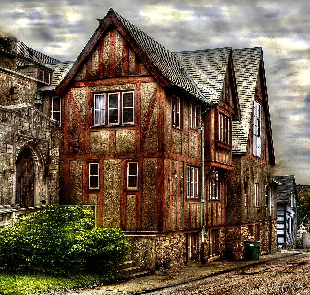 The old church by Mike  Savad