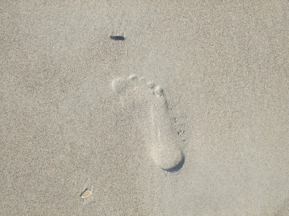 Inverted Footprint by Kimberly D. Allen