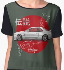 Nissan Skyline R32 GT-R (white) Chiffon Top