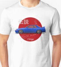 Nissan Skyline R32 GT-R (blue) Unisex T-Shirt