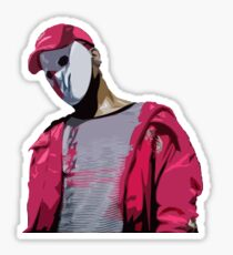 Ski Mask The Slump God Design Sticker