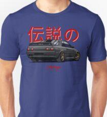 Nissan Skyline R32 GTR (black) Unisex T-Shirt