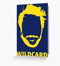 Wildcard Greeting Card