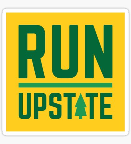 Run Upstate Sticker