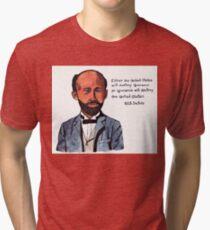 W.E.B. DuBois - Civil Rights Pioneer Tri-blend T-Shirt