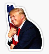 Trump Loves America Sticker