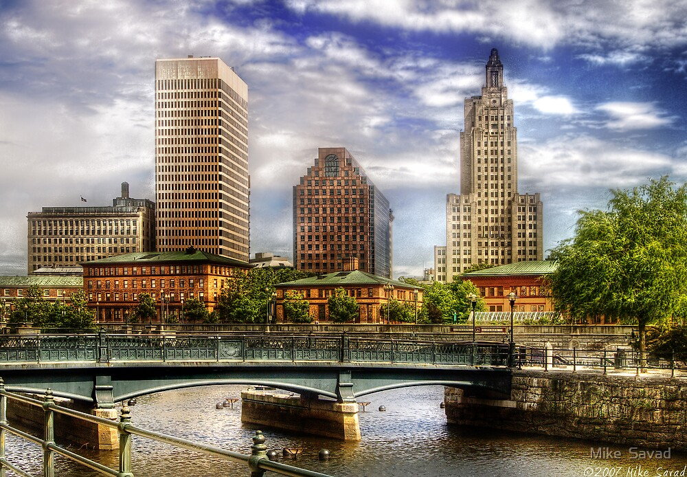 Downtown Providence by Michael Savad