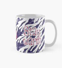 Stay Warm (with text) Mug