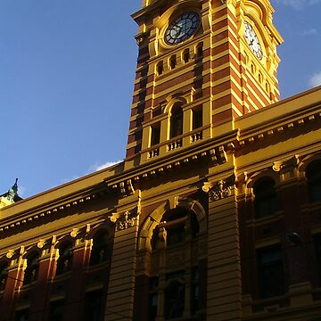 Flinders Street Station by MelissaVowell