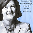Dian Fossey by anniemgo