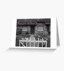 Housewarming Card Greeting Card