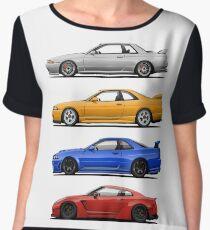 Skyline GTR. Generation Chiffon Top