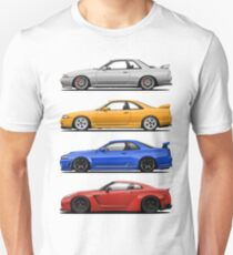 Skyline GTR. Generation Unisex T-Shirt